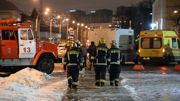 Explosión en un supermercado en San Peterrsburgo - Sputnik Mundo