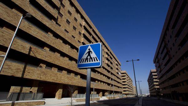 Los edificios en la ciudad española de Sesena - Sputnik Mundo