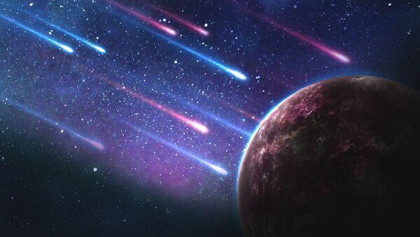 Asteroides, imagen referencial - Sputnik Mundo