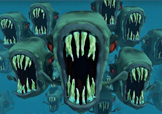 Peces que dan miedo, imagen referencial