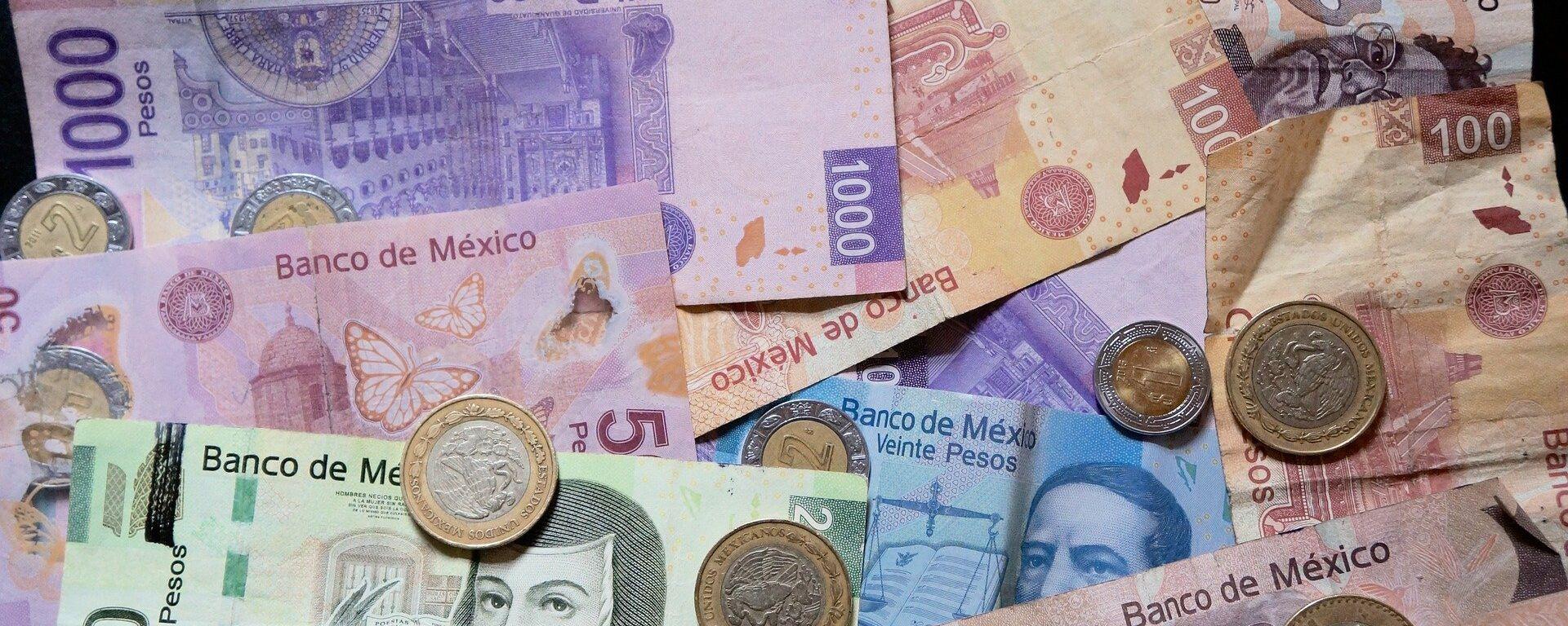 Pesos mexicanos (imagen referencial) - Sputnik Mundo, 1920, 21.05.2020