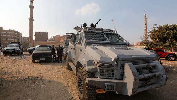 Fuerzas de seguridad egipcias en el lugar del atentado en El Cairo - Sputnik Mundo