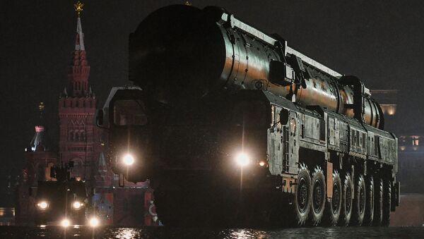 Lanzadera del ICBM Sarmat - Sputnik Mundo