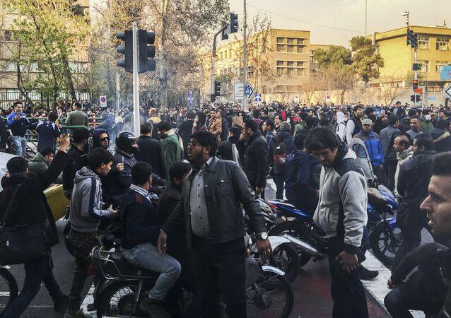 Las protestas en Irán
