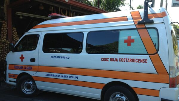 Ambulancia de Costa Rica - Sputnik Mundo