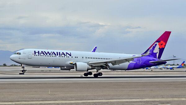 Un avión de Hawaiian Airlines - Sputnik Mundo