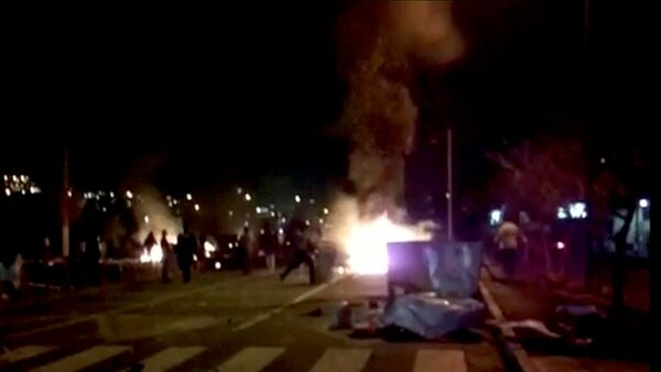 Protestas en Irán - Sputnik Mundo