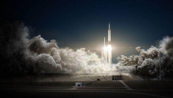 Falcon Heavy, el cohete de SpaceX - Sputnik Mundo