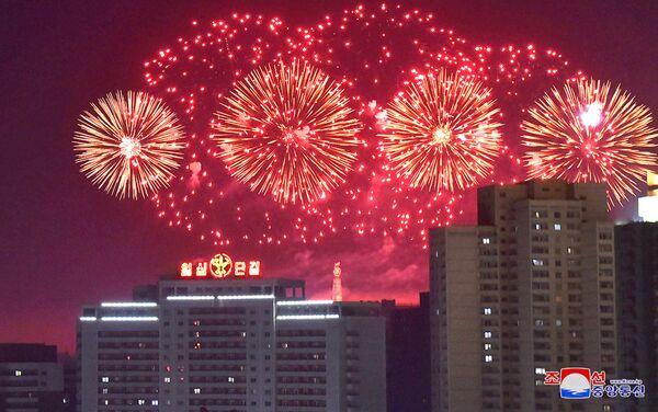 Celebraciones de Año Nuevo en Pyongyang - Sputnik Mundo