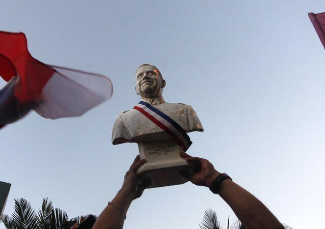 Los seguidores del presidente electo de Chile, Sebastián Piñera