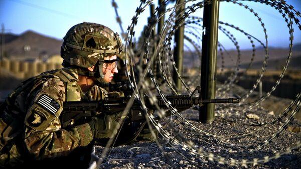 Un militar estadounidense en Afganistán (archivo) - Sputnik Mundo