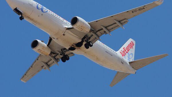 Un avión de Air Europa (imagen referencial) - Sputnik Mundo