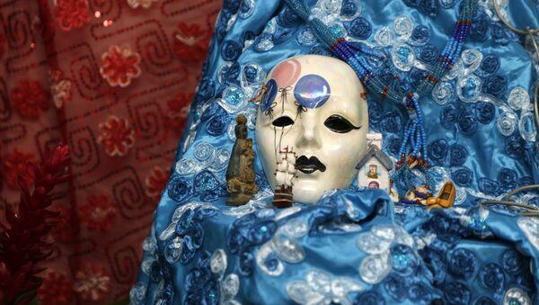 Una máscara de la divinidad Yemayá - Sputnik Mundo