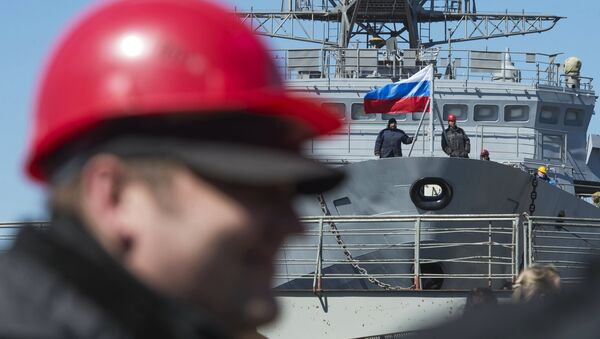 Astilleros en San Petersburgo, Rusia - Sputnik Mundo