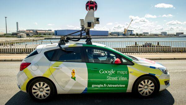 Un automóvil de Google Street View - Sputnik Mundo