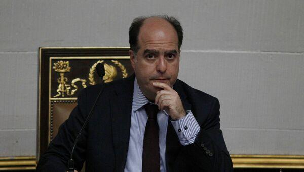 Julio Borges, expresidente de la Asamblea Nacional de Venezuela (archivo) - Sputnik Mundo