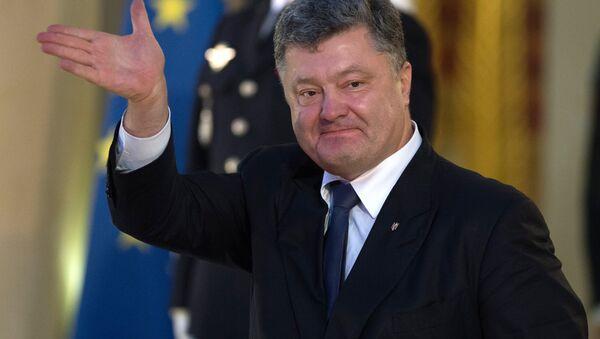Petró Poroshenko, expresidente de Ucrania - Sputnik Mundo