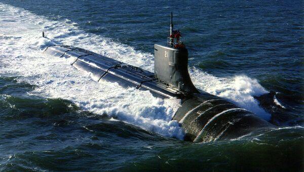 Submarino estadounidense USS Seawolf (archivo) - Sputnik Mundo