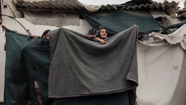 Refugiados palestinos en Gaza - Sputnik Mundo