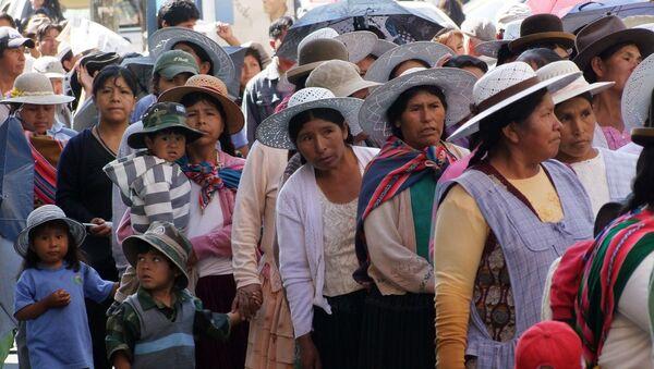 Trabajadoras bolivianas - Sputnik Mundo