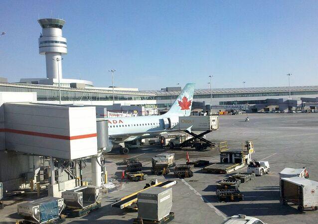 El Aeropuerto Internacional Pearson de Toronto, Canadá