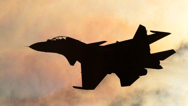 Un caza Su-30SM - Sputnik Mundo