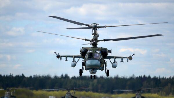 El helicóptero ruso Ka-52 Alligator - Sputnik Mundo