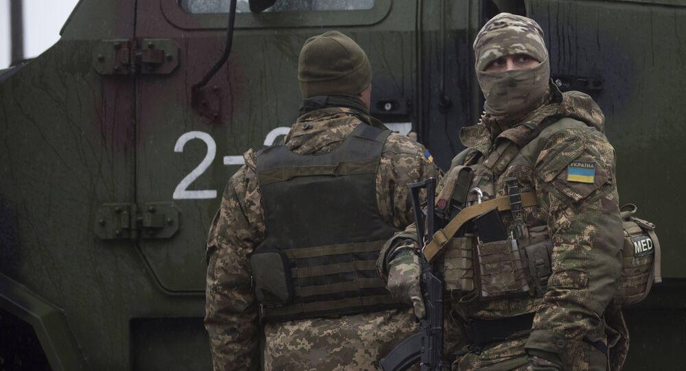 Militares ucranianos, imagen referencial