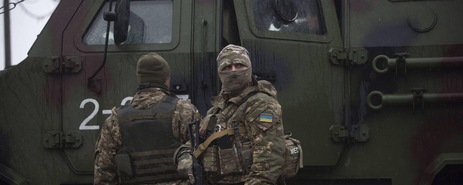 Militares ucranianos, imagen referencial - Sputnik Mundo, 1920, 08.04.2021