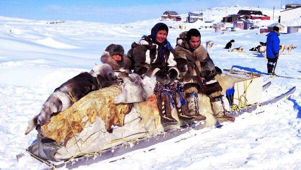 Los inuit, imagen de archivo - Sputnik Mundo