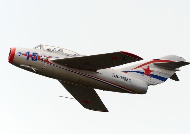 El caza MiG-15