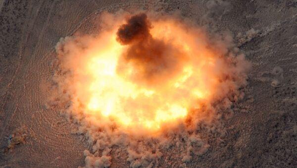 Una explosión, foto referencial - Sputnik Mundo