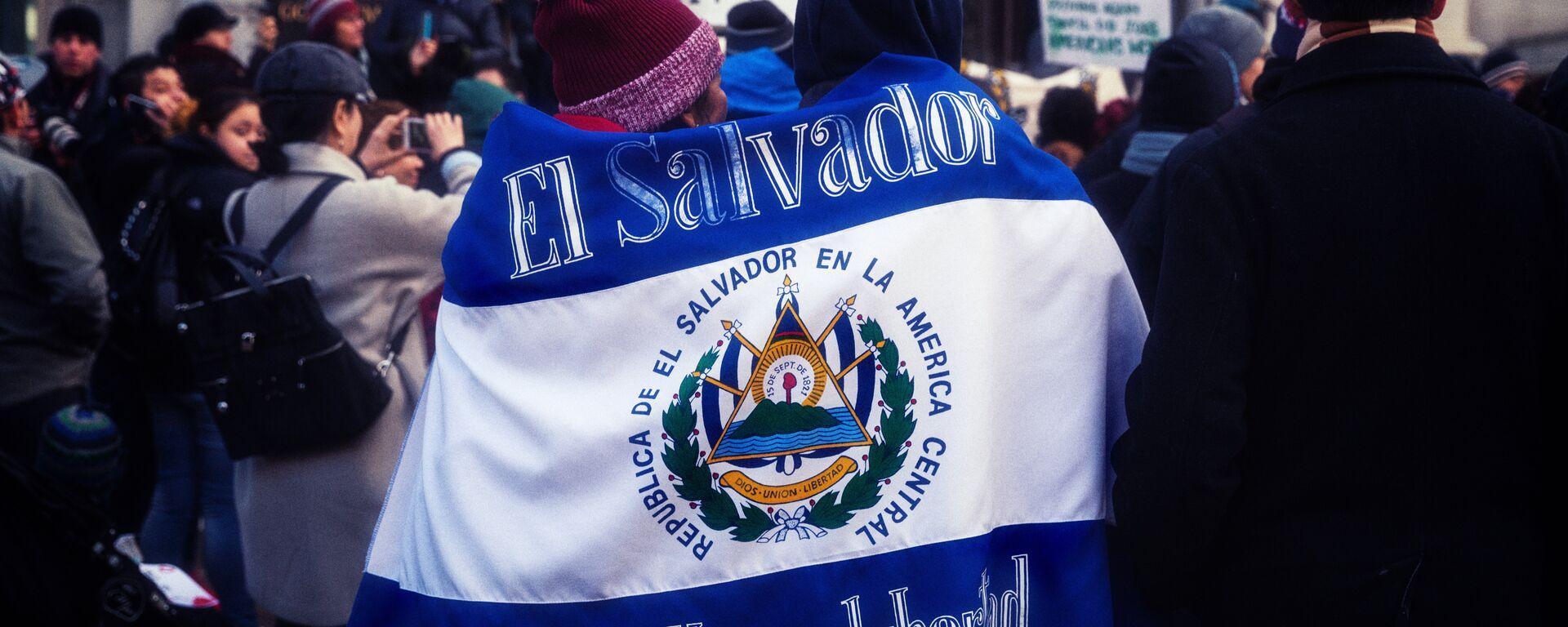 Bandera de El Salvador  - Sputnik Mundo, 1920, 21.01.2021