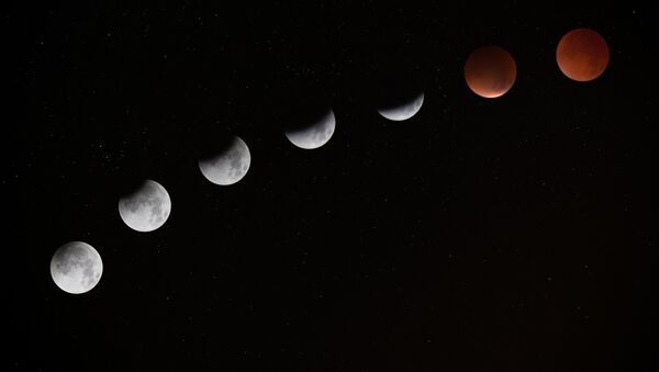 Eclipse lunar - Sputnik Mundo