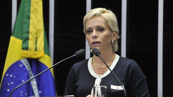 Cristiane Brasil, la designada ministra de Trabajo de Brasil (archivo) - Sputnik Mundo