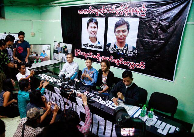 Los retratos de los periodistas detenidos