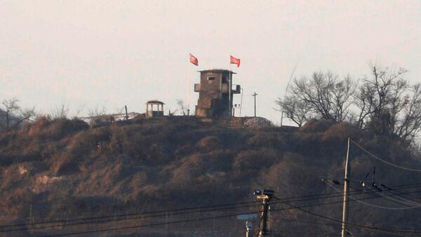 La zona desmilitarizada entre las dos Coreas - Sputnik Mundo