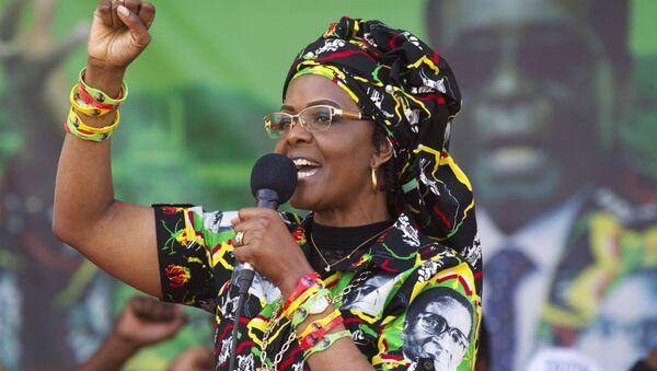 Grace Mugabe, la ex primera dama de Zimbabue - Sputnik Mundo