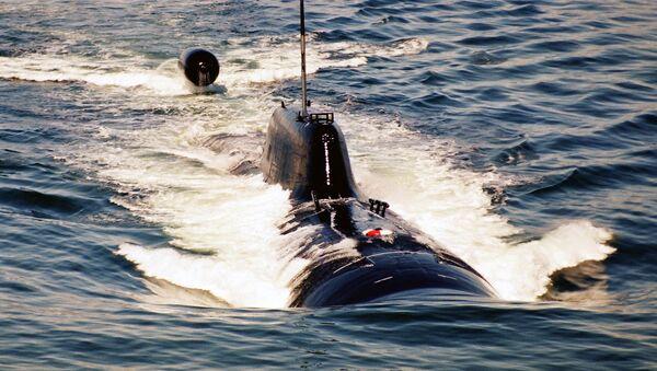 Un submarino nuclear ruso (archivo) - Sputnik Mundo