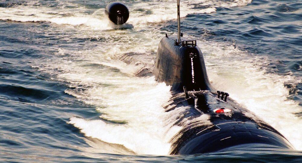 Un submarino nuclear ruso (archivo)