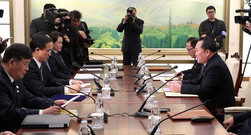 Las negociaciones entre las dos Coreas