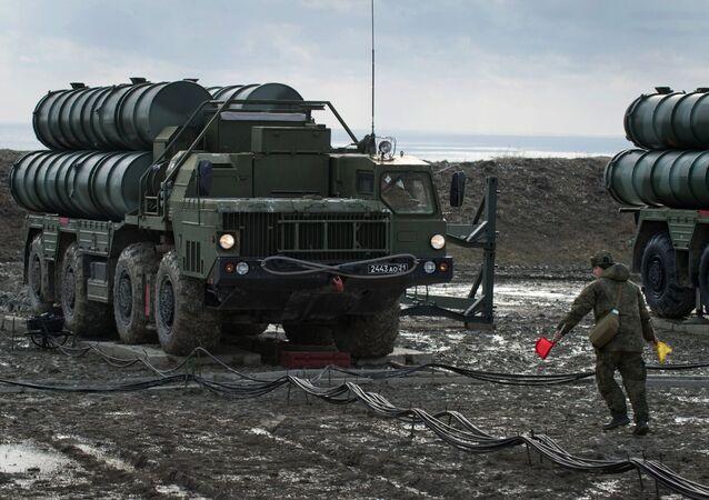 Un regimiento de S-400 desplegado en Crimea (archivo)