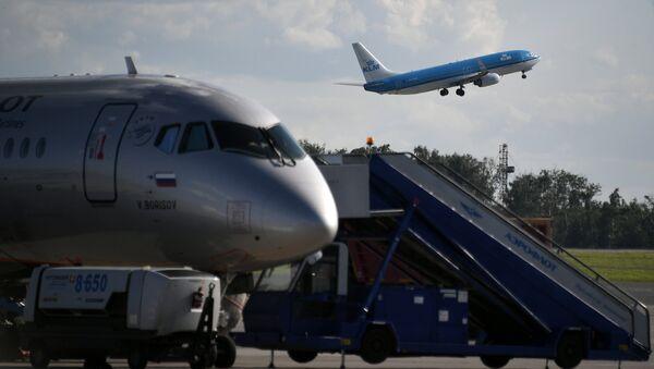 Aviones Airbus A320 (imagen referencial) - Sputnik Mundo