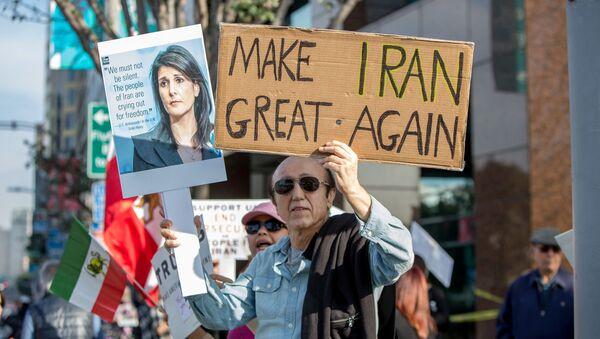 Protestas antigubernamentales en Irán (archivo) - Sputnik Mundo