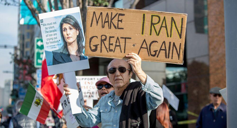 Protestas antigubernamentales en Irán (archivo)
