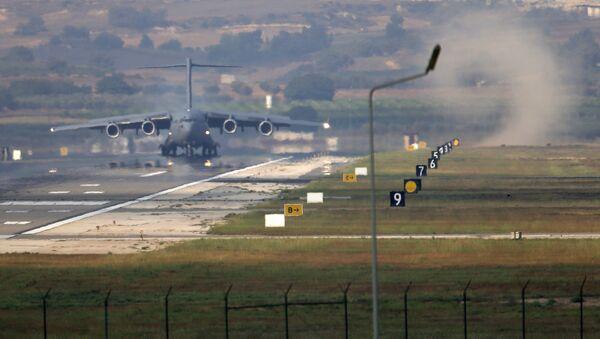 La base aérea de Incirlik, Turquía (archivo) - Sputnik Mundo