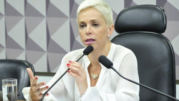 Cristiane Brasil, la designada ministra de Trabajo de Brasil - Sputnik Mundo
