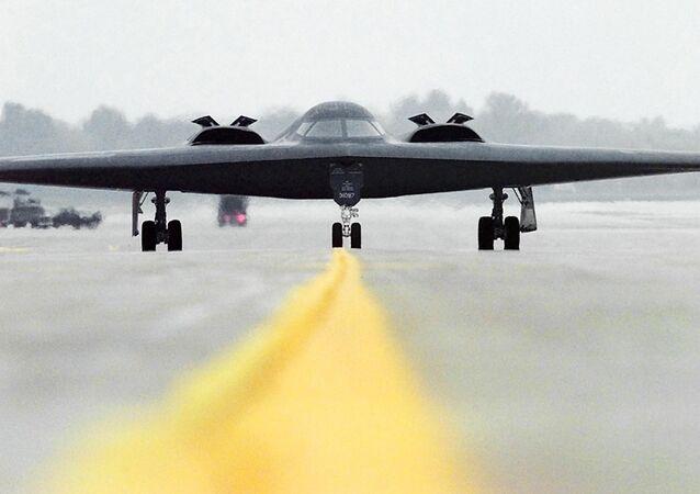 B-2 Spirit, bombardero de EEUU (archivo)