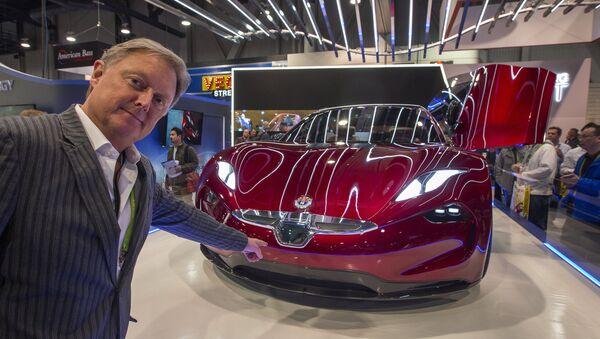 EMotion, automóvil eléctrico de la empresa Fisker - Sputnik Mundo