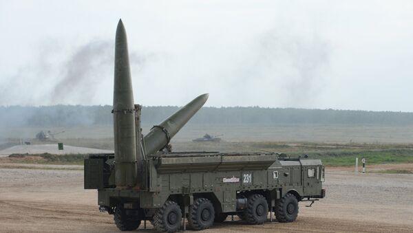 El sistema de misiles tácticos ruso Iskander-M - Sputnik Mundo